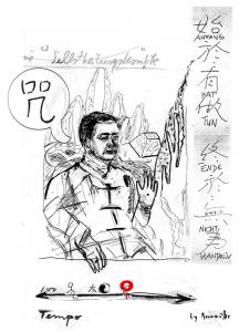 Portrait von Zhi Chang Li und seiner Lehre des Stillen Qi Gong
